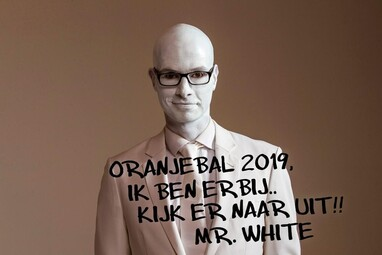 Oranjebal 2019 met Mr. White