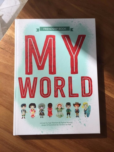 Friendship book MYWORLD
